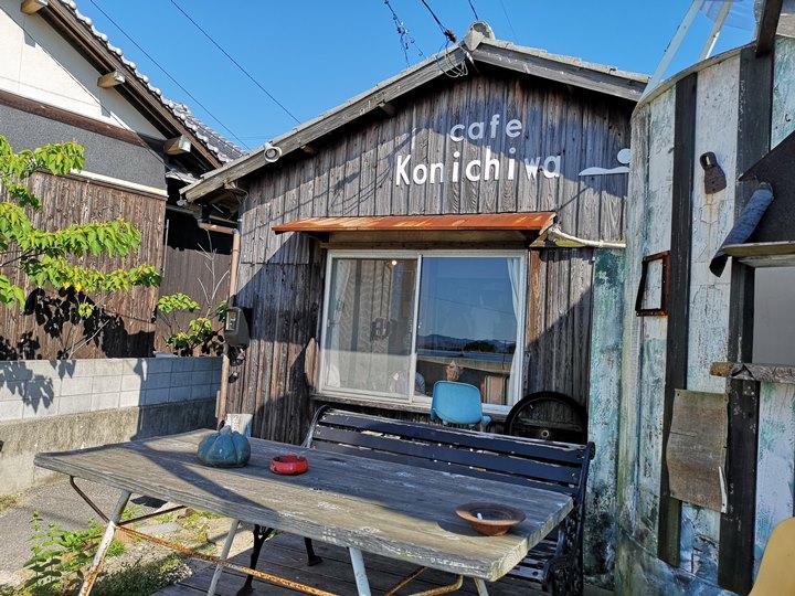 konichiwa04 Naoshima-Cafe Konichiwa直島本村港旁 可愛海景咖啡館