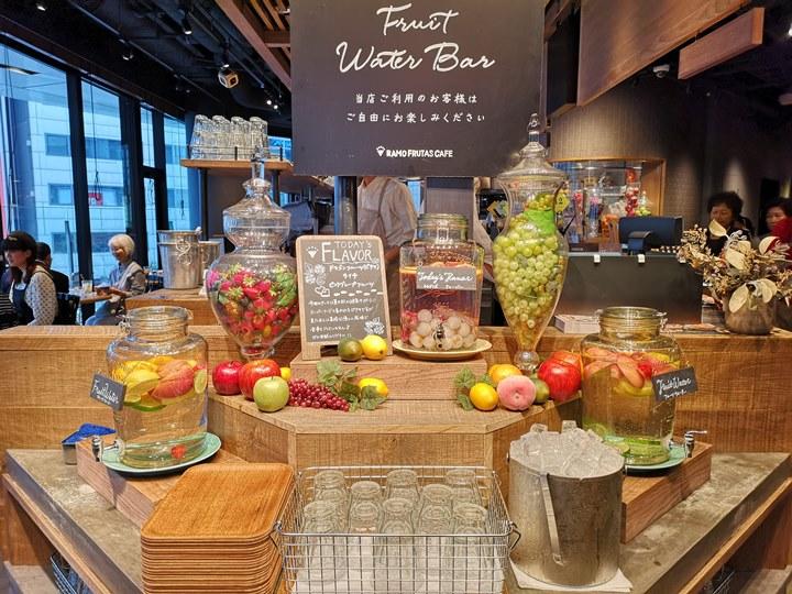 ramoo12 Ginza-RAMO FRUTAS CAFE時尚銀座大街的悠閒空間