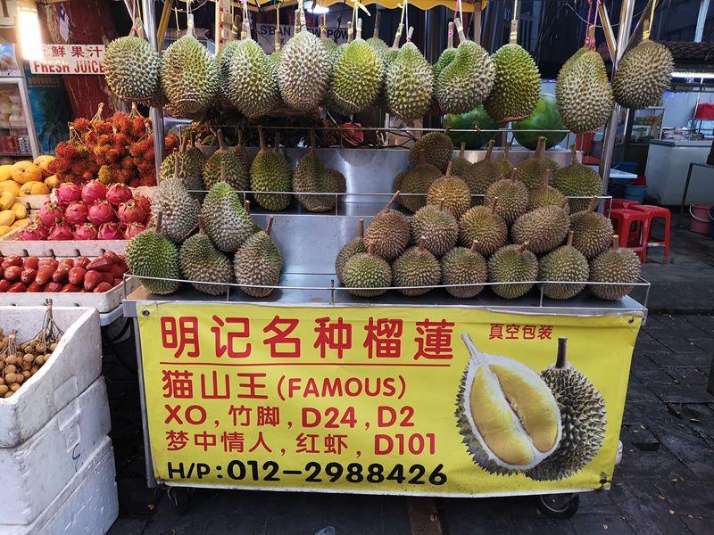WAW03 Kuala Lumpur-吉隆坡必訪亞羅街夜市街 名店黃亞華 推薦烤雞翅與鹹蛋魷魚