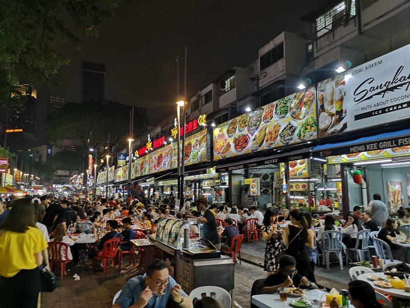 WAW05 Kuala Lumpur-吉隆坡必訪亞羅街夜市街 名店黃亞華 推薦烤雞翅與鹹蛋魷魚