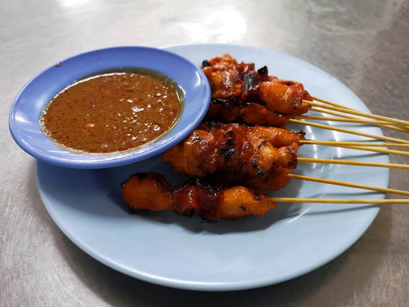 WAW14 Kuala Lumpur-吉隆坡必訪亞羅街夜市街 名店黃亞華 推薦烤雞翅與鹹蛋魷魚
