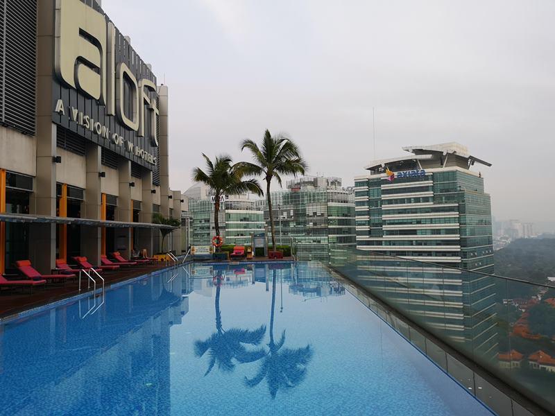 aloftklsentral28 Kuala Lumpur-Aloft吉隆坡 Sentral KL直結 輕鬆的氛圍方便的環境