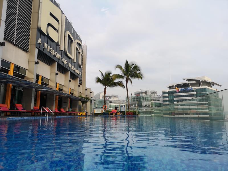aloftklsentral30 Kuala Lumpur-Aloft吉隆坡 Sentral KL直結 輕鬆的氛圍方便的環境