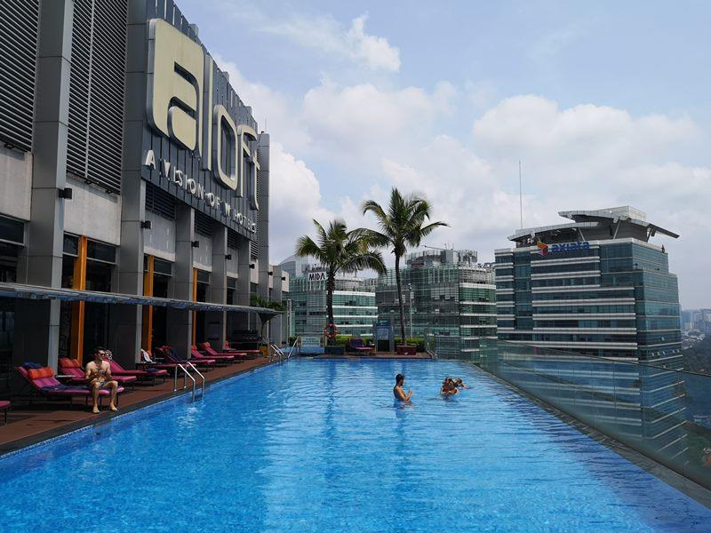 aloftklsentral32 Kuala Lumpur-Aloft吉隆坡 Sentral KL直結 輕鬆的氛圍方便的環境