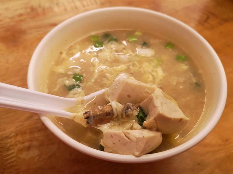hungcoldnoodles8 中和-洪記涼麵 最搭酷暑 蛋花味增湯豐富好喝