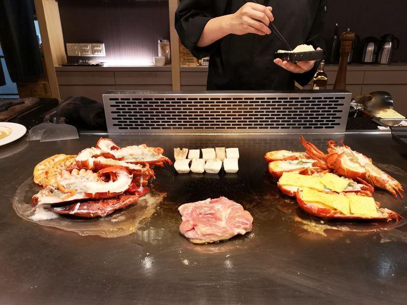santei19 中壢-三鐵鐵板燒 中原隱藏版需預約鐵板燒 食材新鮮好吃