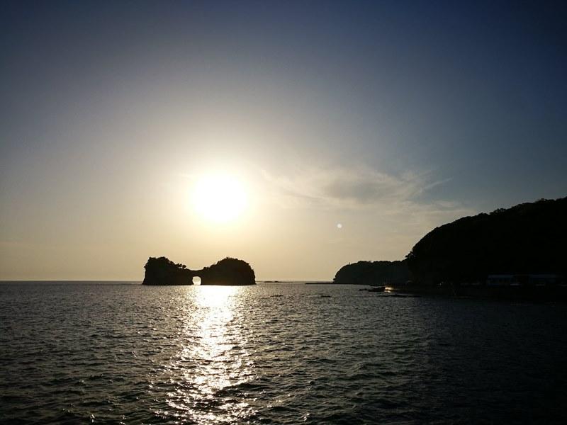 takashima3104 Shirahama-和歌山円月島 欣賞白濱最迷人的夕陽