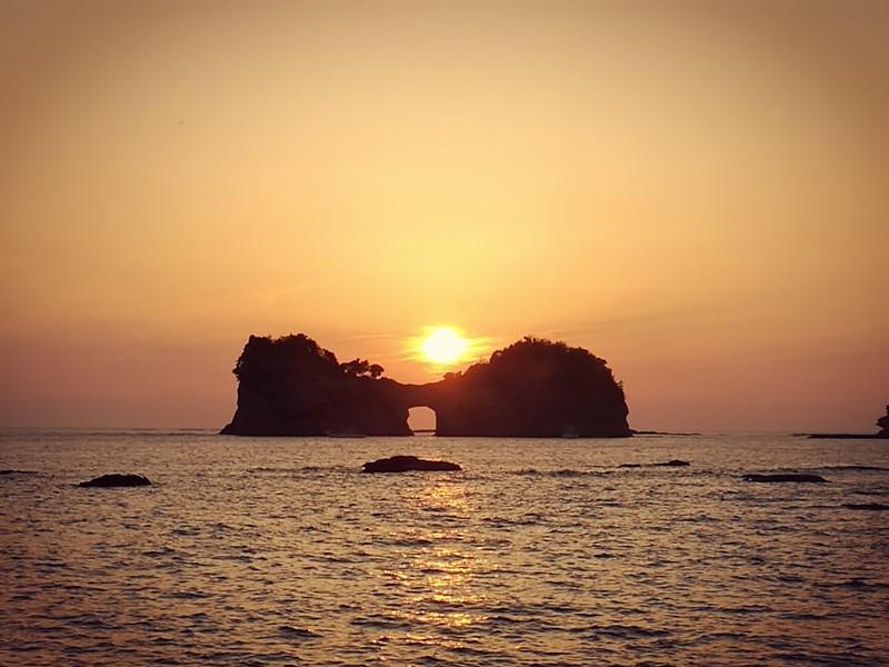 takashima3112 Shirahama-和歌山円月島 欣賞白濱最迷人的夕陽