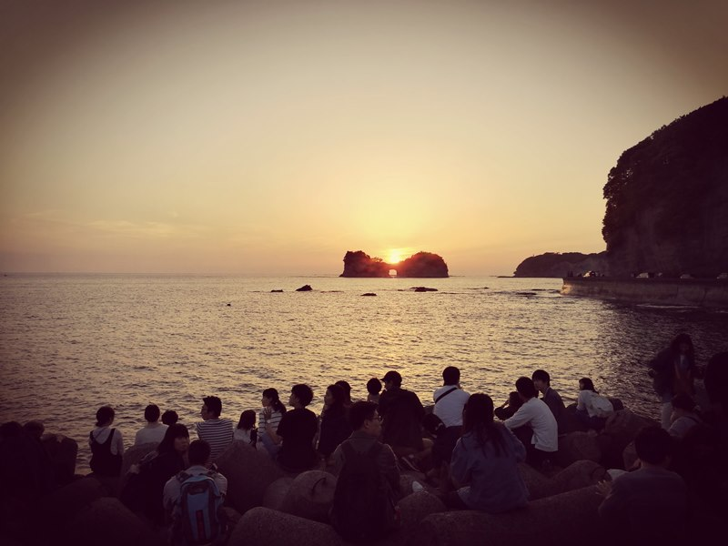 takashima3115 Shirahama-和歌山円月島 欣賞白濱最迷人的夕陽
