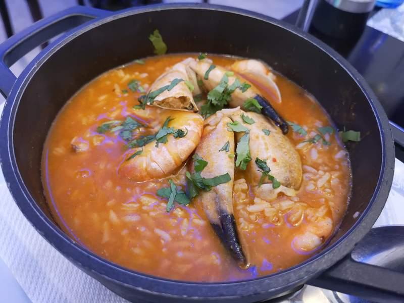 MarisqueiraM10 Lisboa-Marisqueira M里斯本舊城區吃傳統海鮮燉飯