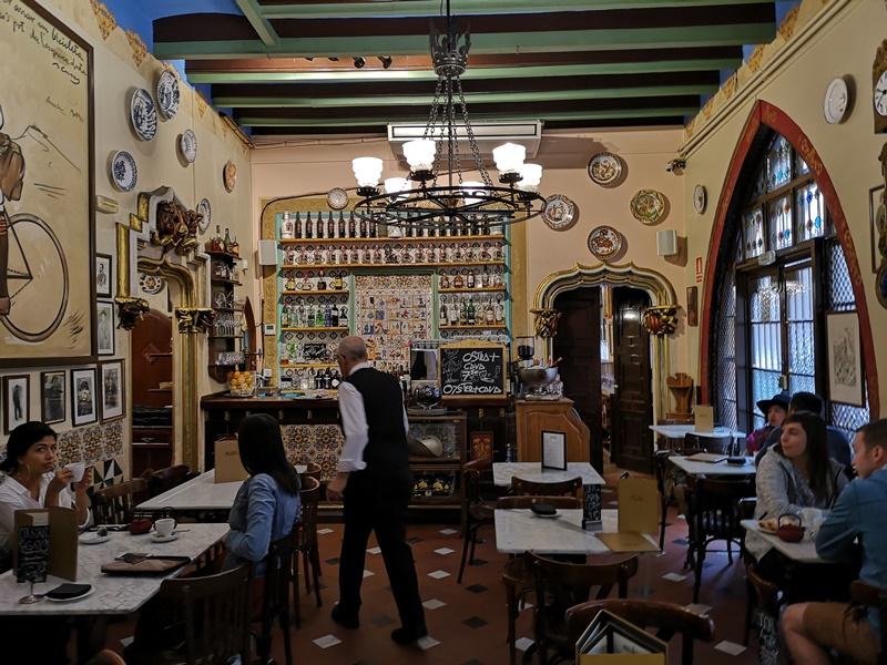 bcn4cats05 Barcelona-巴塞隆納四隻貓咖啡 Els Quatre Gats感受藝文風情的咖啡館