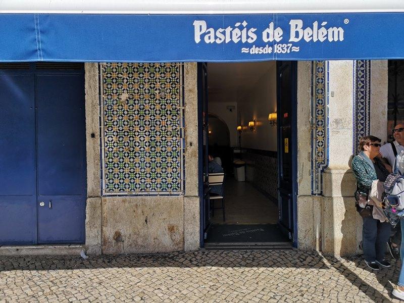 belemeggtart02 Lisboa-貝倫蛋塔 里斯本必吃蛋塔創始店 Casa Pasteis De Belem外酥內香醇軟嫩好好吃