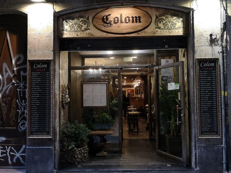 colom01 Barcelona-Colom Restaurant巴塞隆納海鮮餐廳