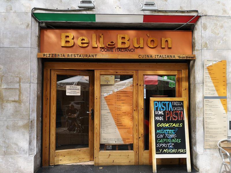 bcnbelle01 Barcelona-巴塞隆納Pizzeria Bell e Buon 濃郁不膩的好吃義大利麵