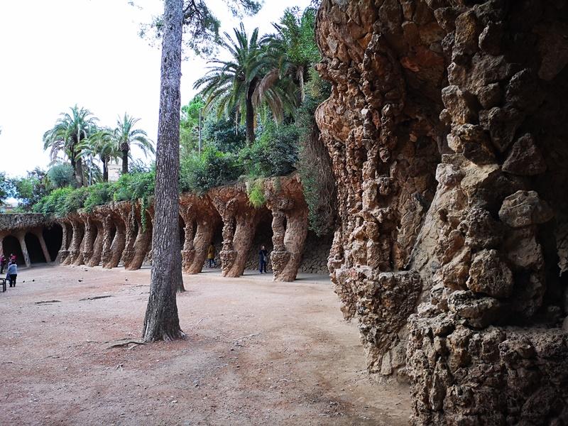 guellparkk05 Barcelona-巴塞隆納世界文化遺產  高第建築奎爾公園馬賽克蜥蜴太吸睛