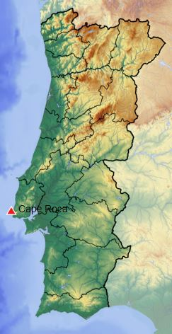 rocaroca Lisboa-羅卡角Roca Cape歐洲大陸最西端 眺望大西洋 想像航海時代乘風而去的英雄