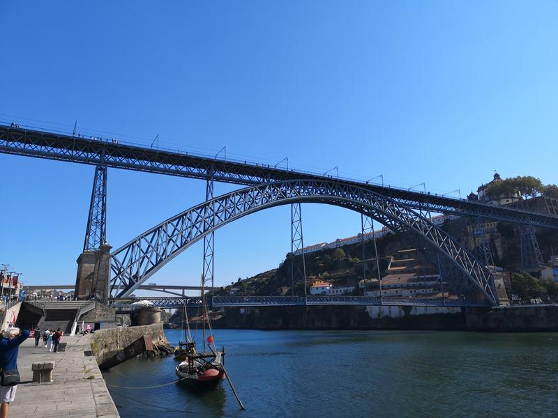 luiz1bridge14 Porto-歐洲第一名的觀光城市波多 Douro河岸風光綺麗 路易一世鐵橋壯觀