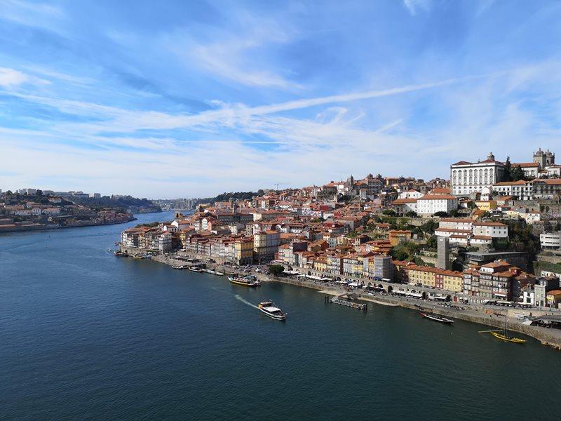 luiz1bridge42 Porto-歐洲第一名的觀光城市波多 Douro河岸風光綺麗 路易一世鐵橋壯觀