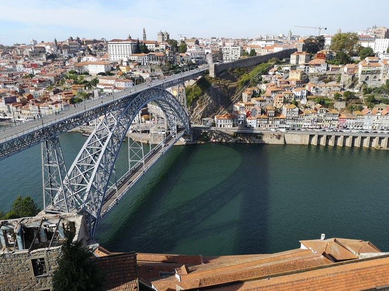 luiz1bridge53 Porto-歐洲第一名的觀光城市波多 Douro河岸風光綺麗 路易一世鐵橋壯觀