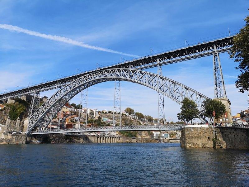luiz1bridge58 Porto-歐洲第一名的觀光城市波多 Douro河岸風光綺麗 路易一世鐵橋壯觀