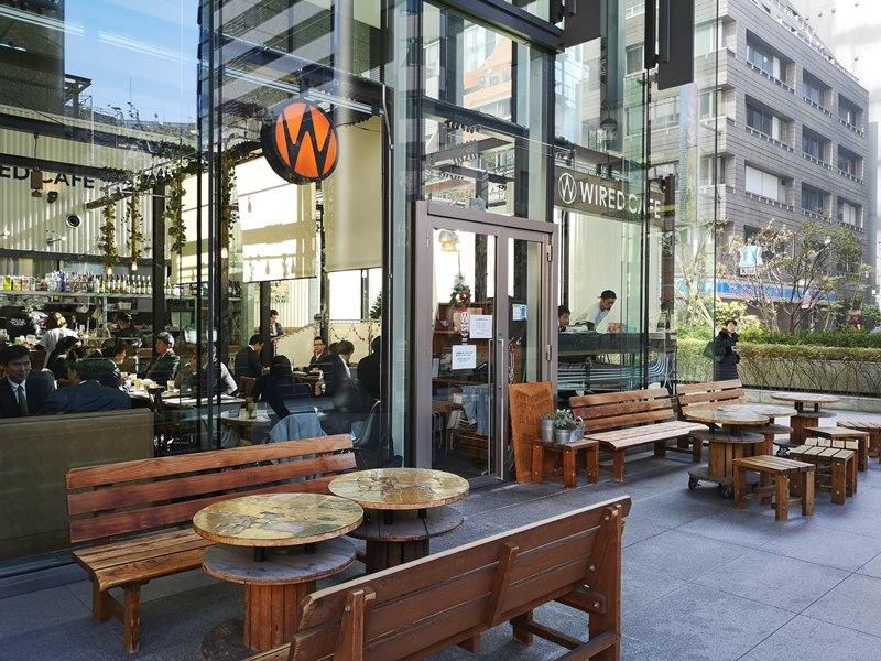 weirdcoffee04 Shinagawa-WIRED CAFE 品川港南口 摩登現代咖啡好美也好吃