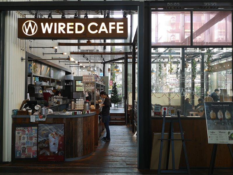 weirdcoffee06 Shinagawa-WIRED CAFE 品川港南口 摩登現代咖啡好美也好吃