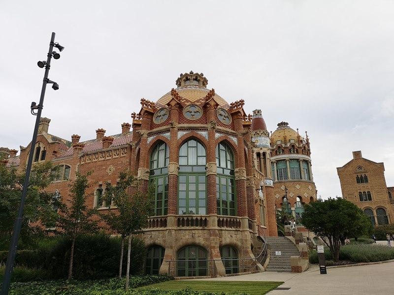 barcelonasantpau15 Barcelona-聖十字聖保羅醫院 巴塞隆納現在主義建築三傑之多明尼克...世界文化遺產