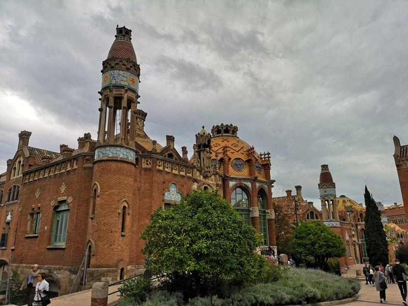 barcelonasantpau17 Barcelona-聖十字聖保羅醫院 巴塞隆納現在主義建築三傑之多明尼克...世界文化遺產