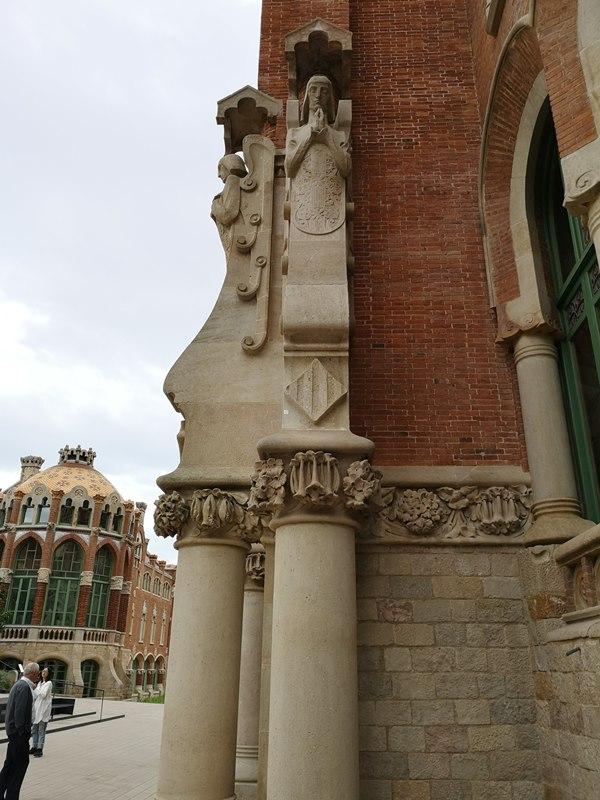 barcelonasantpau30 Barcelona-聖十字聖保羅醫院 巴塞隆納現在主義建築三傑之多明尼克...世界文化遺產