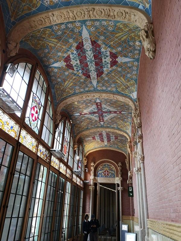 barcelonasantpau39 Barcelona-聖十字聖保羅醫院 巴塞隆納現在主義建築三傑之多明尼克...世界文化遺產
