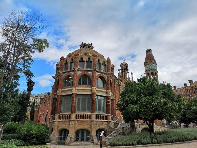 barcelonasantpau41 Barcelona-聖十字聖保羅醫院 巴塞隆納現在主義建築三傑之多明尼克...世界文化遺產