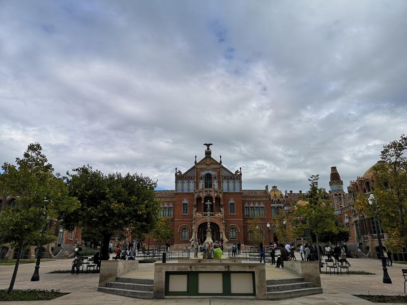barcelonasantpau42 Barcelona-聖十字聖保羅醫院 巴塞隆納現在主義建築三傑之多明尼克...世界文化遺產