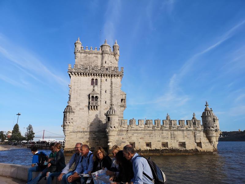 belemtowerr07 Lisboa-護衛里斯本的港區貝倫塔 世界文化遺產與湊熱鬧的發現者紀念碑