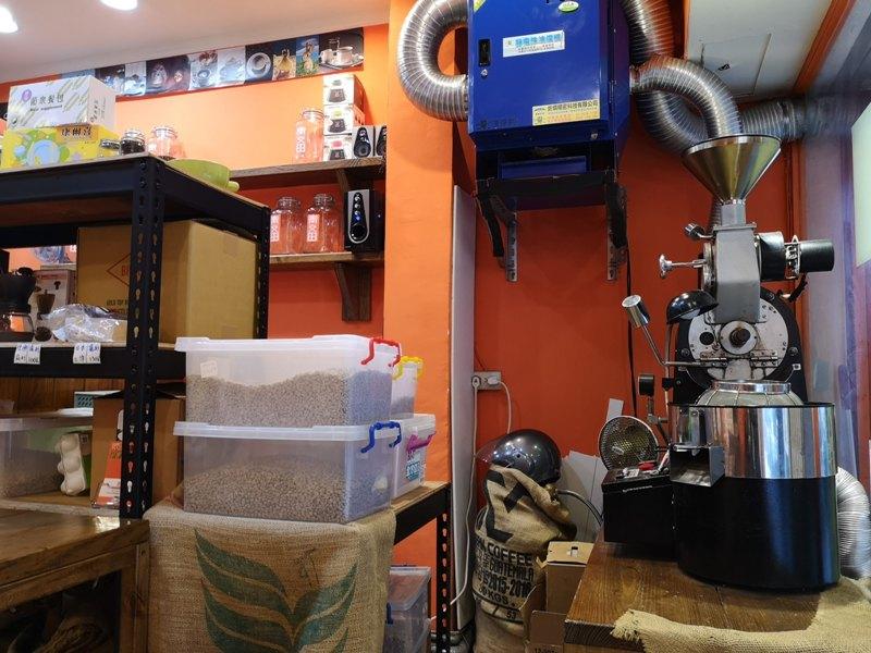 chingandtiencoffee21 中正-青又田咖啡 南門市場旁的現烘小巧咖啡館