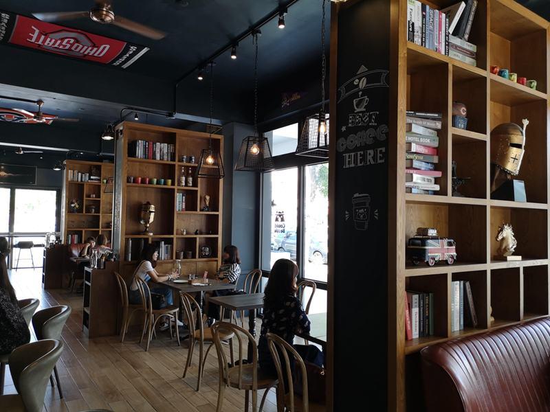 couldbecafe0808 頭份-Could Be Cafe音樂運動美式餐廳 這義大利麵濃郁的好吃