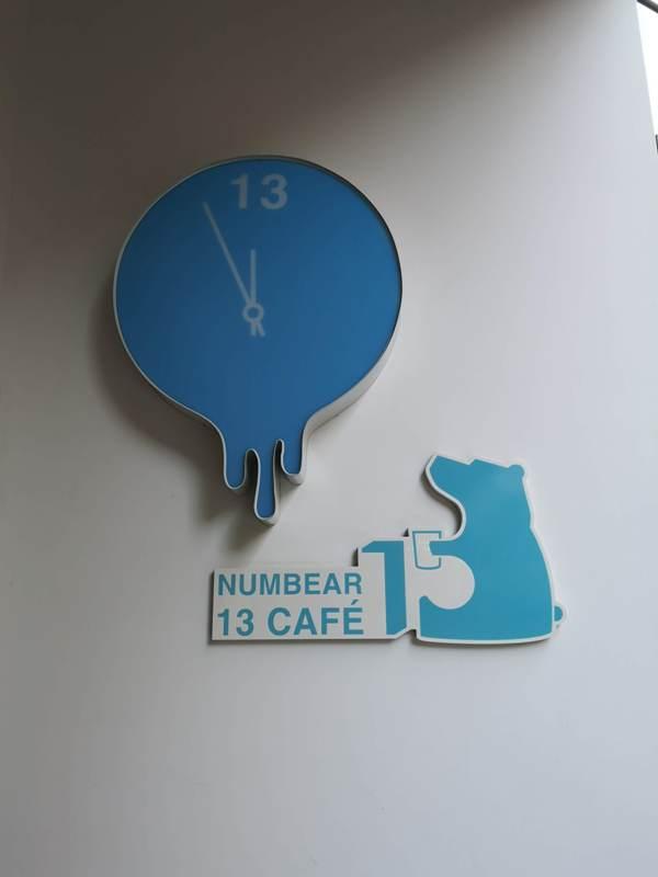number13cafe04 中壢-Number 13 Cafe純白與浪漫的藍 中原大門網美咖啡館