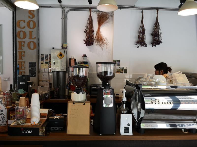 solocafe04 桃園-藍色是憂鬱 一個人的Solo Coffee