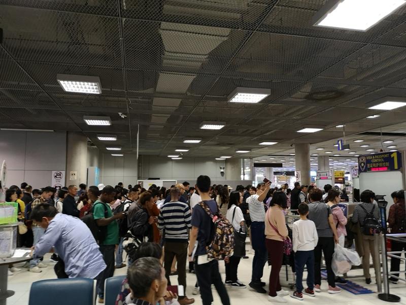 flybkkbkk2512 201902過年曼谷避寒 好久沒有國泰了