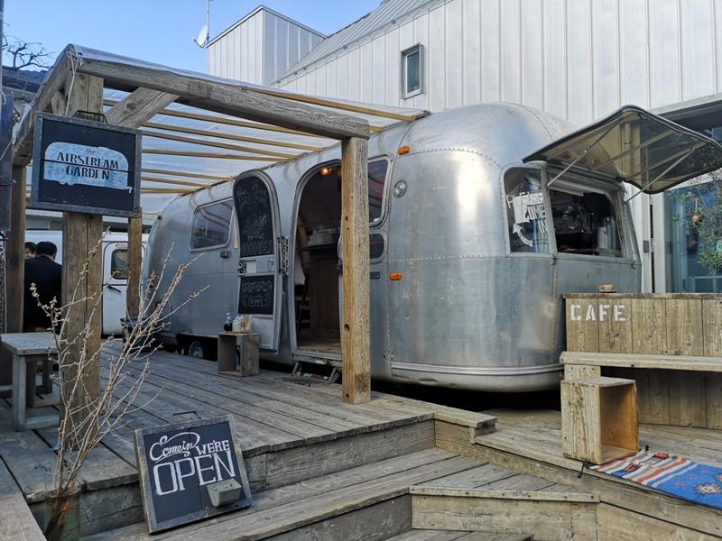 airstream03 Harajuku-the Airstream Garden表參道小巷內 巴士造型咖啡館 人氣打卡勝地