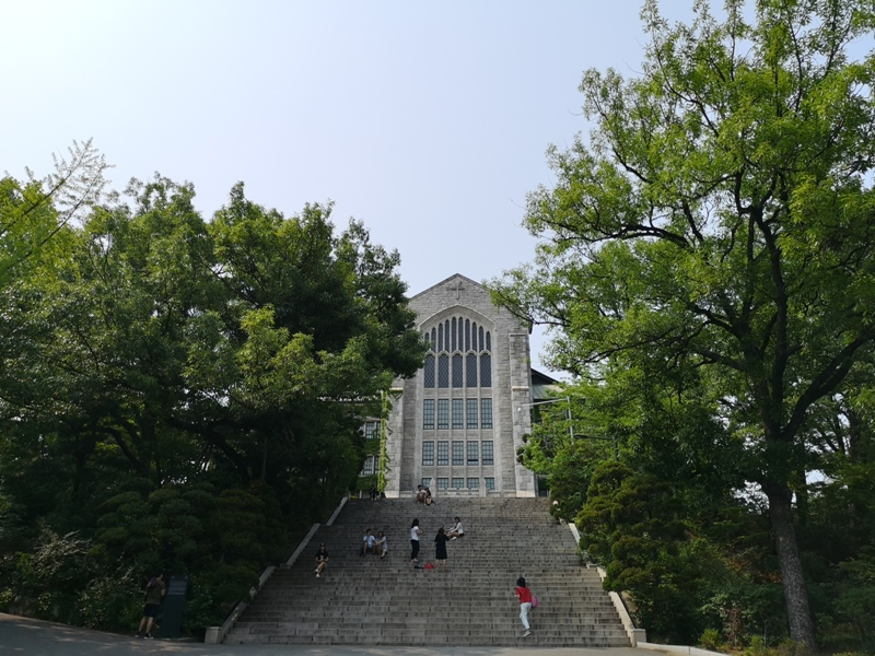 ewhau06 Seoul-梨花女子大學 韓國名校首爾必訪 優雅美麗的校園景色慢慢逛