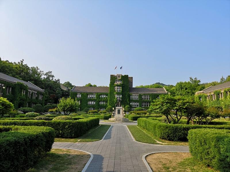 ewhau40 Seoul-梨花女子大學 韓國名校首爾必訪 優雅美麗的校園景色慢慢逛
