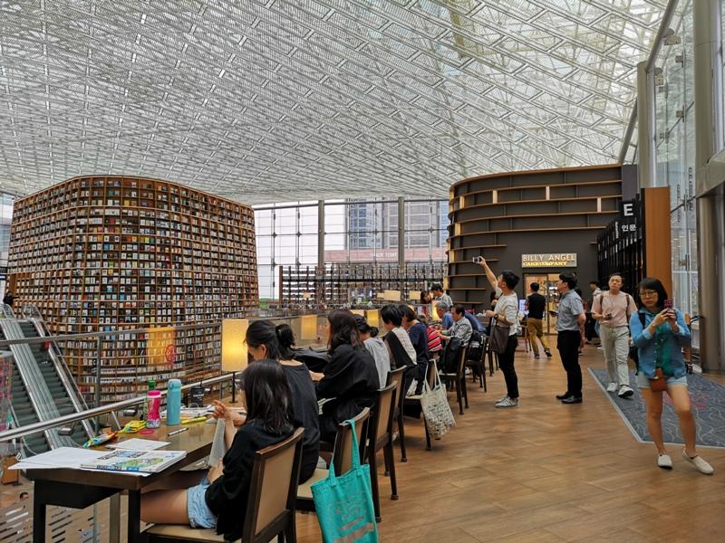 starfieldlibrary07 Seoul-首爾IG打卡熱點COEX MALL Starfield Library星空圖書館 超好拍
