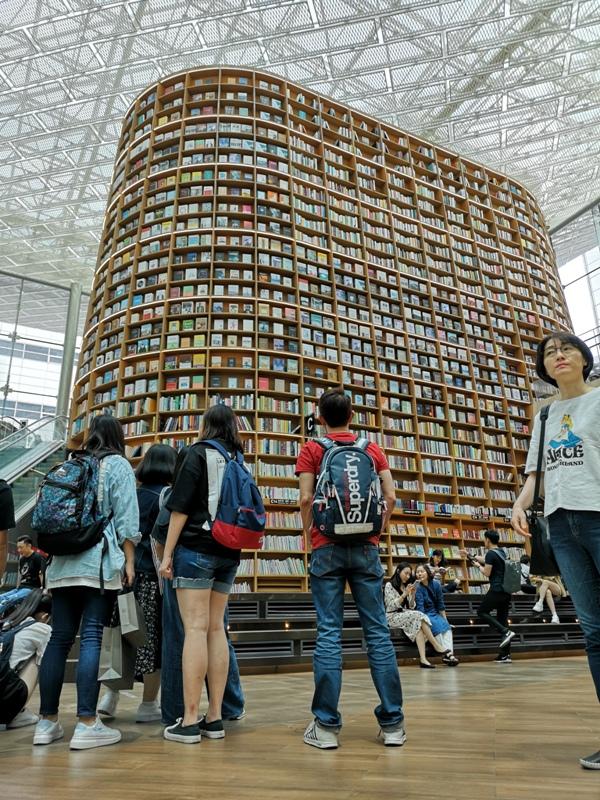 starfieldlibrary12 Seoul-首爾IG打卡熱點COEX MALL Starfield Library星空圖書館 超好拍