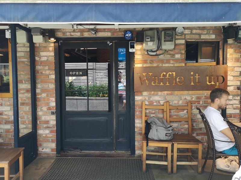 waffleitup030105 Seoul-首爾Waffle It Up梨大商圈 好好吃的鬆餅 給學生安靜的讀書空間 給旅人輕鬆地歇腳時光