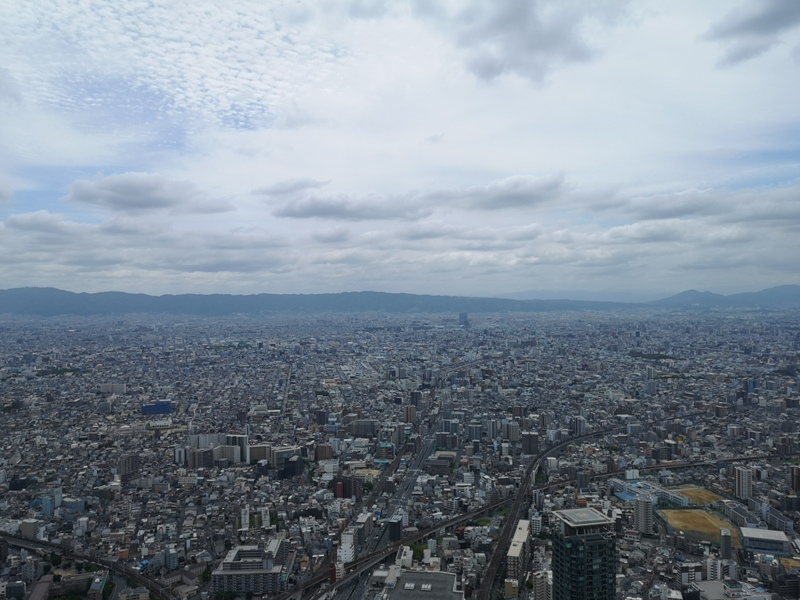 abenoharukas0108 Tennoji-阿倍野Harukas 300展望台 日本最高樓的大阪景觀
