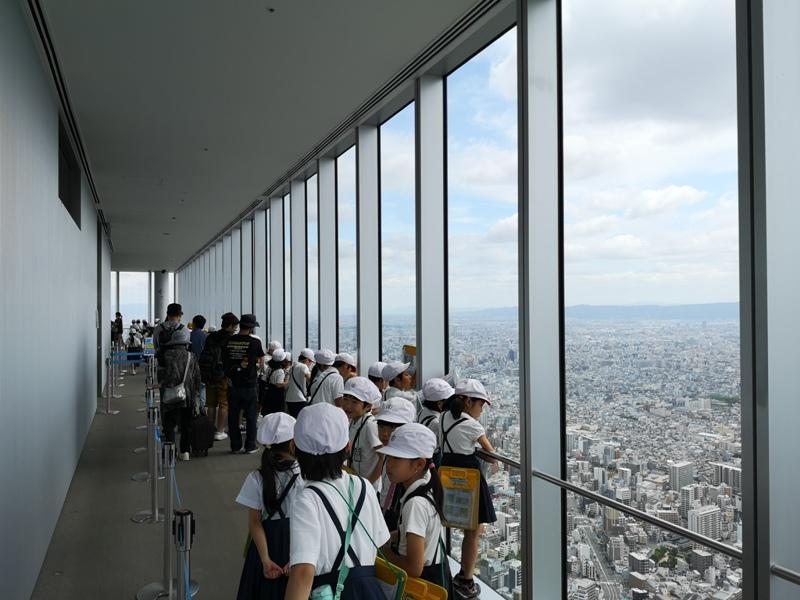 abenoharukas0122 Tennoji-阿倍野Harukas 300展望台 日本最高樓的大阪景觀