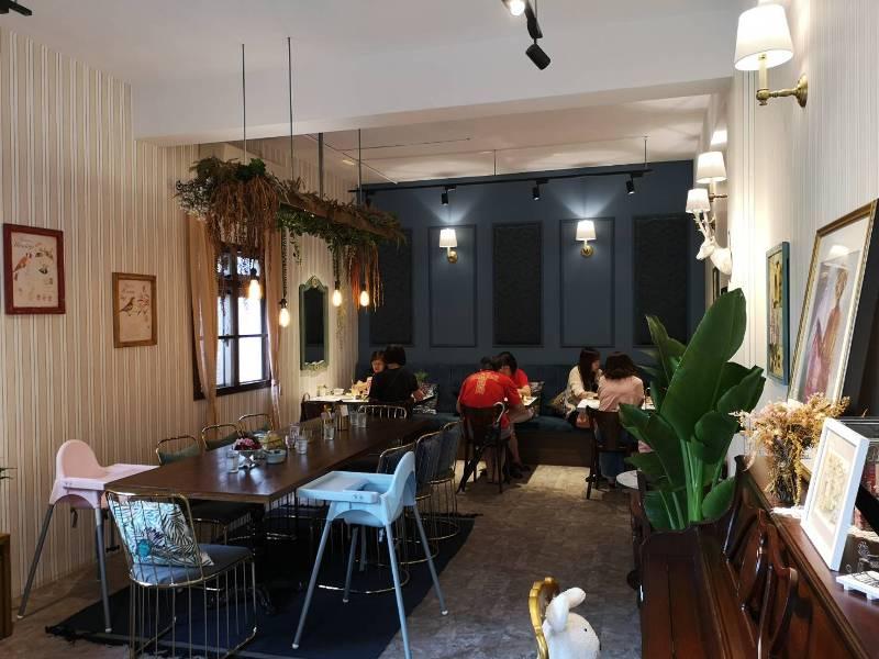 redbrick09 竹北-新瓦屋紅瓦紫藤 在花園也是花園的超綠意咖啡館