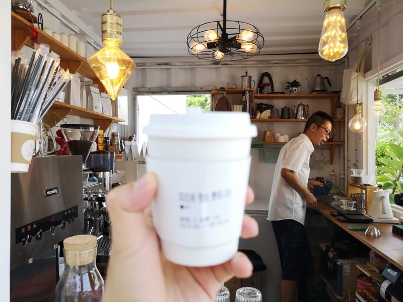 cocacoffee20 竹北-Coca Coffee超網美夢幻手沖咖啡吧...貨櫃屋概念的熱...