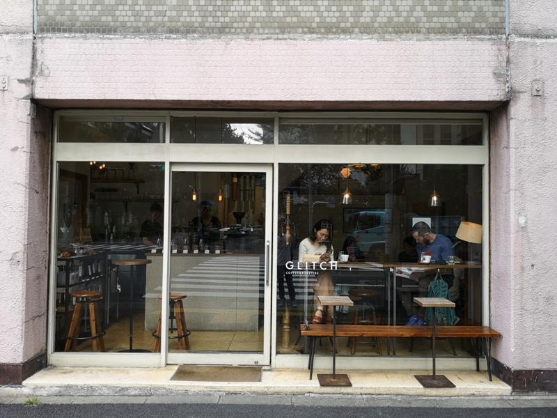 glitch02 Kanda-Glitch Coffee & Roasters神保町書店街 一杯咖啡配本書