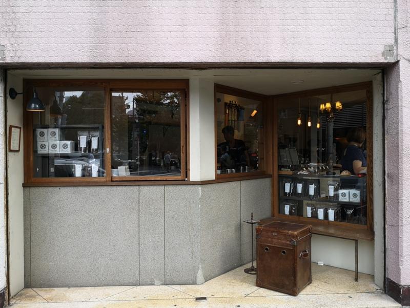 glitch03 Kanda-Glitch Coffee & Roasters神保町書店街 一杯咖啡配本書
